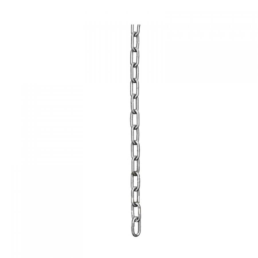 Цепь сварная короткозвенная оцинкованная - D1 DIN 5685/A 4 мм