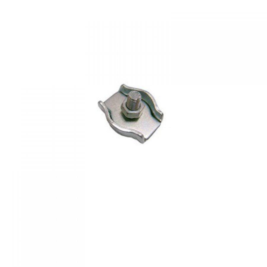 Зажим троса плоский (SIMPLEX) 4х1 мм