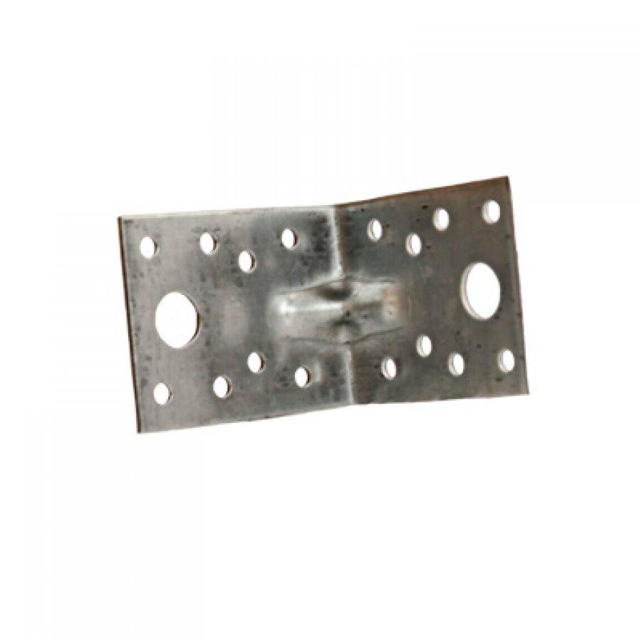 Крепежный усиленный уголок KUU 105(100)/105(100)/90/2 мм
