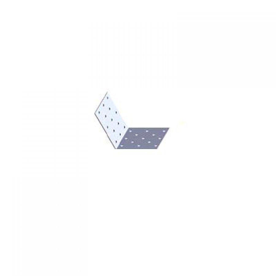 Крепежный уголок равносторонний KUR 50/50/80/2 мм