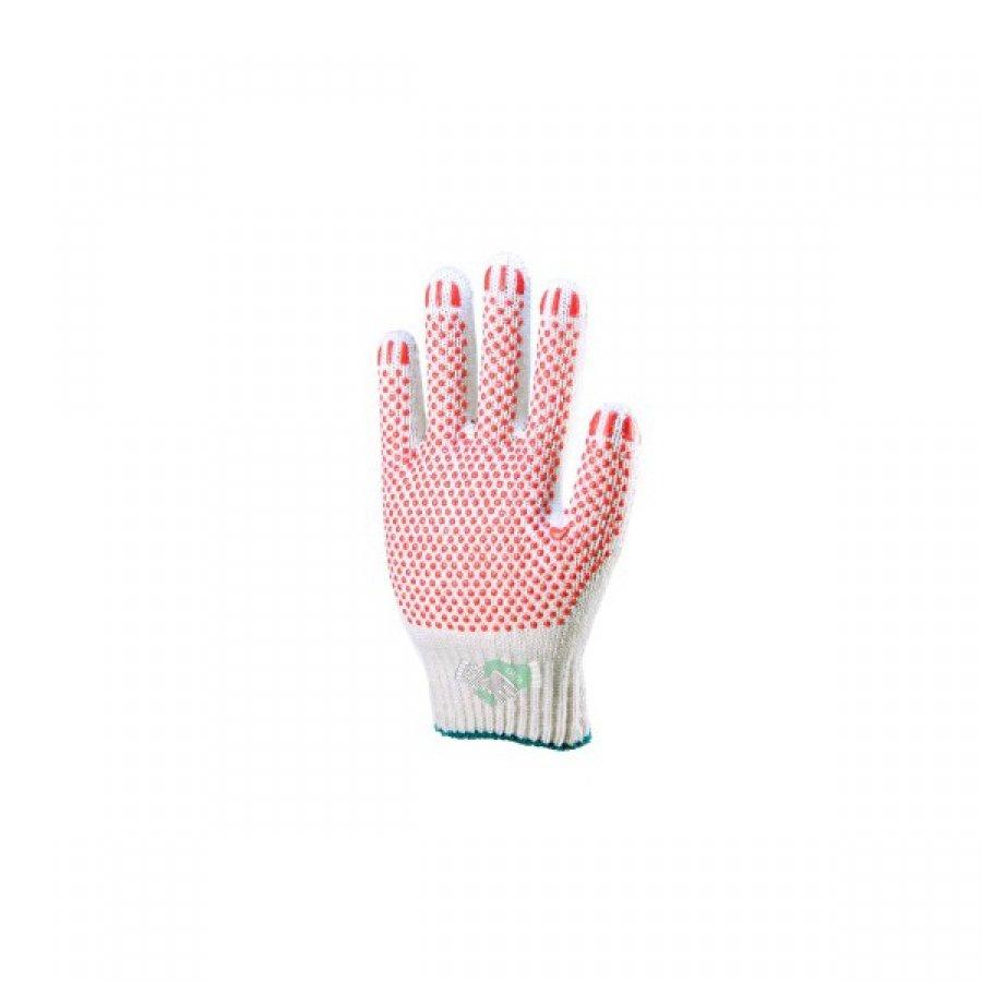 Перчатки ХБ с ПВХ напылением 45 гр/пара