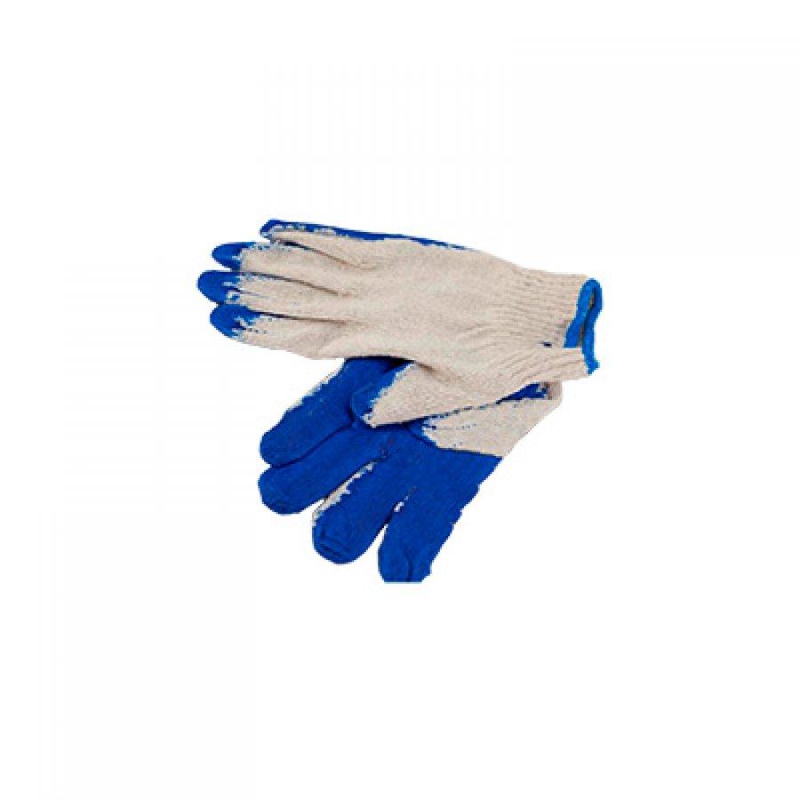 Перчатки ХБ латексные один облив размер 18-20