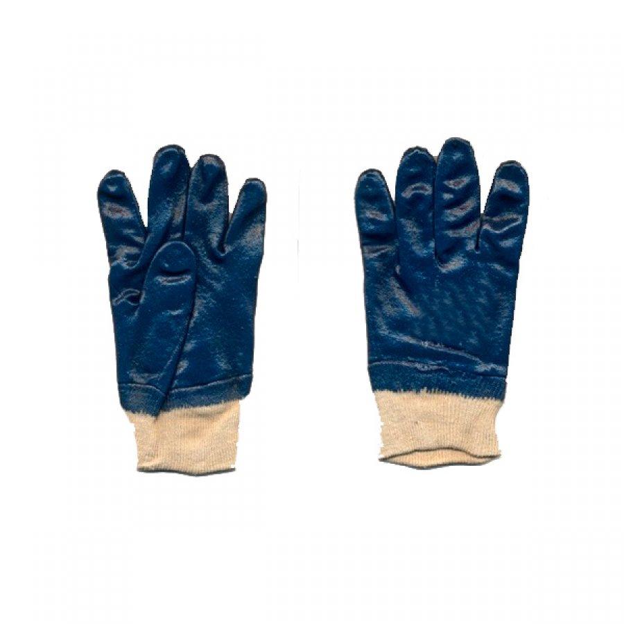 Перчатки ХБ с нитр. обливом