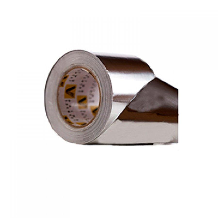 Скотч алюминиевый 100 мм х 50 м 60 мкм