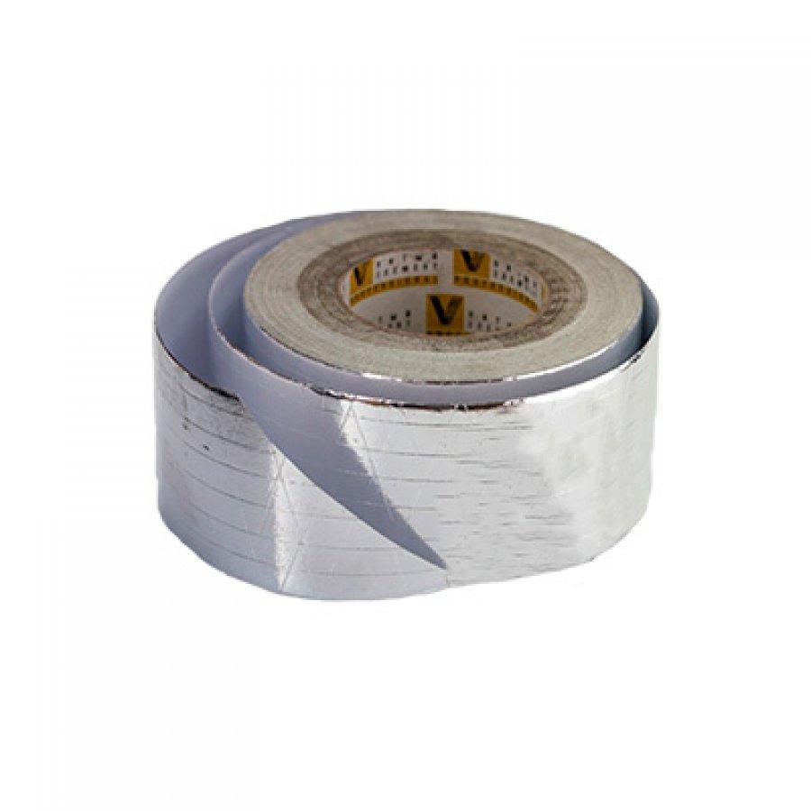 Скотч алюминиевый армированный 75 мм х 50 м
