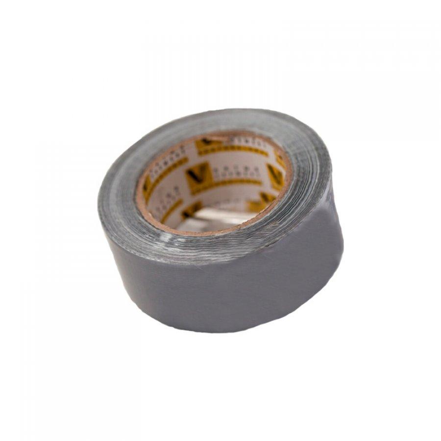 Скотч алюминиевый армированный, ТПЛ Серебро 50 мм х 50 м