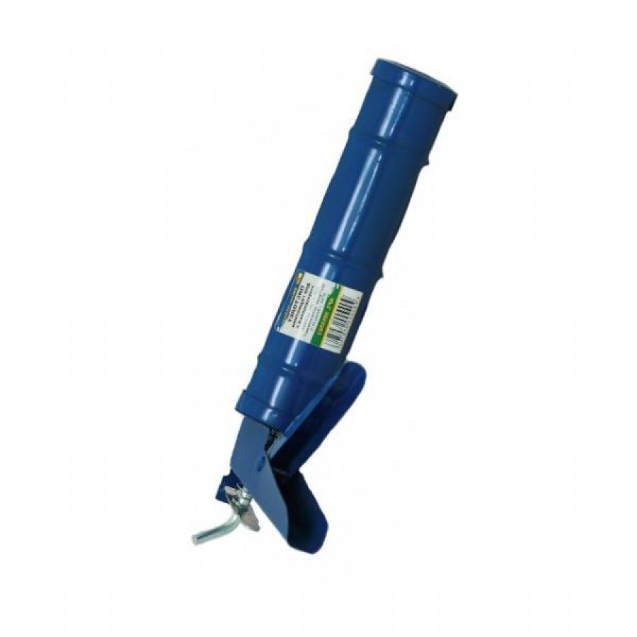 Полукорпусной пистолет для герметиков 310мл с гладким штоком