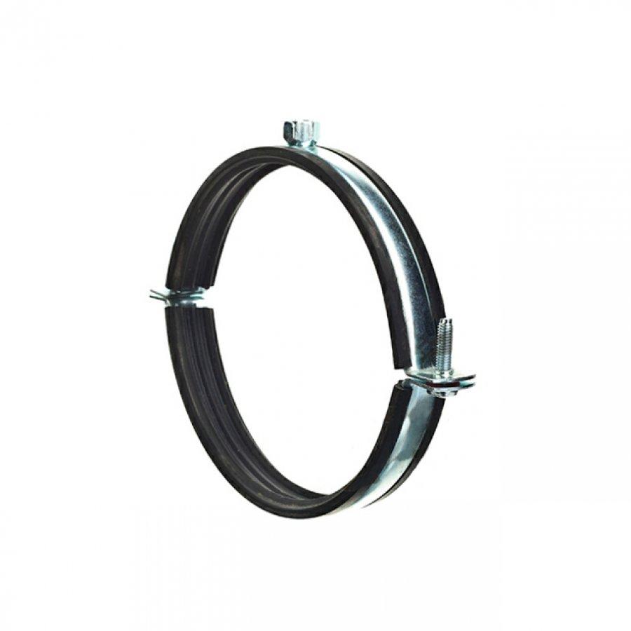 Хомуты для горизонтального крепления воздуховодов с резиновым профилем 450 мм М8/10