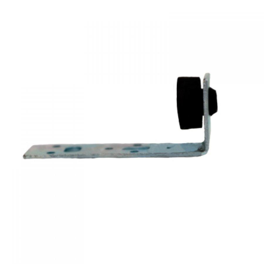 Крепеж L -образный крепеж с виброгасителем для монтажа воздуховодов и профнастила с гайкой М10