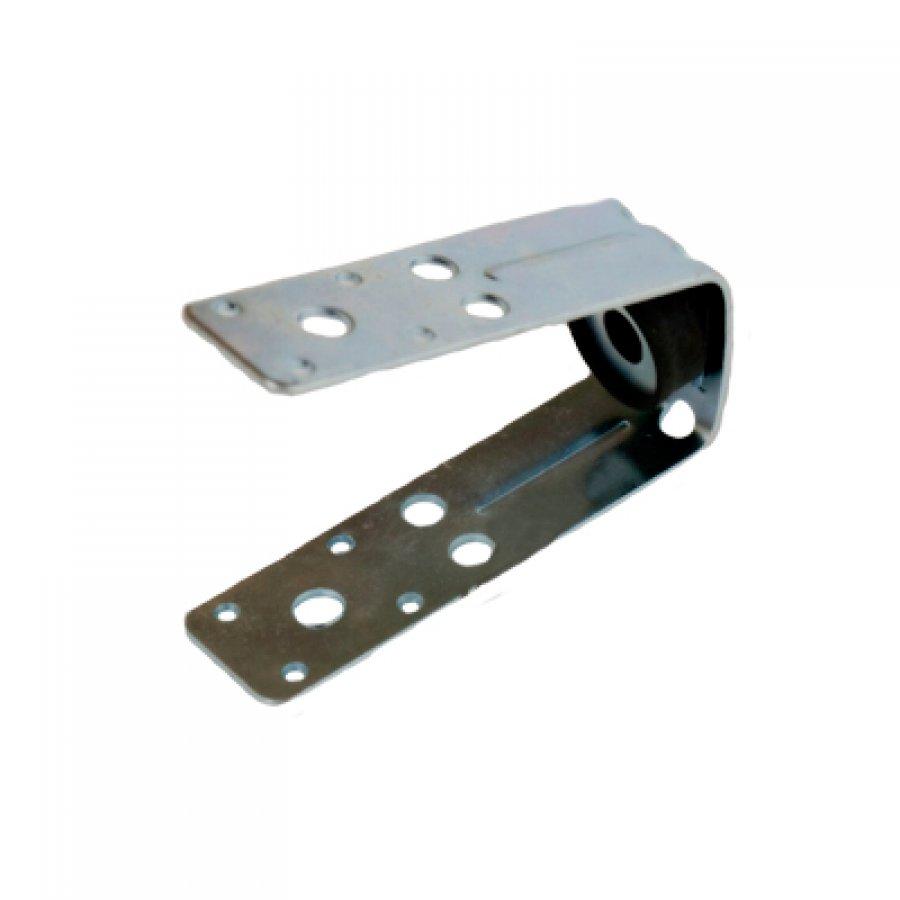 Крепеж V -образный крепеж с виброгасителем для монтажа воздуховодов и профнастила с гайкой М10