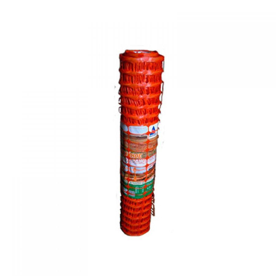 Аварийное ограждение ячейка 45х95 мм рулон 1х50 м