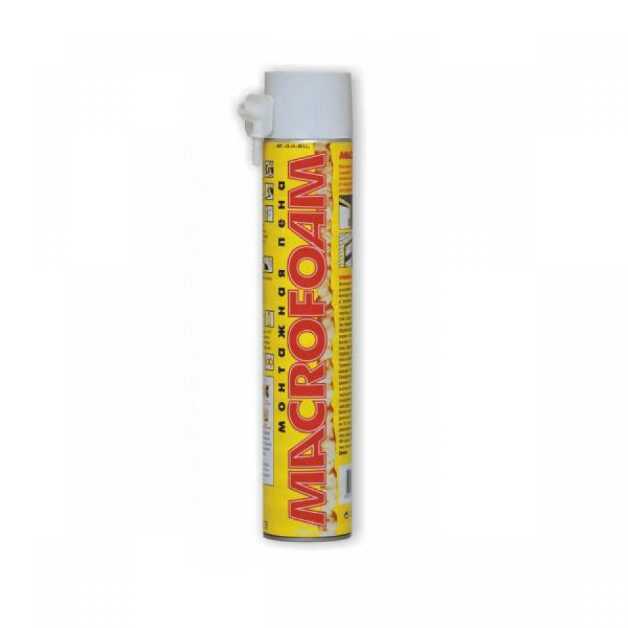 Бытовая монтажная пена MACROFOAM 750 мл