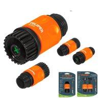Коннекторы для шланга быстрозащелкивающиеся набор аквастоп рабочий размер 3/4 дюйма