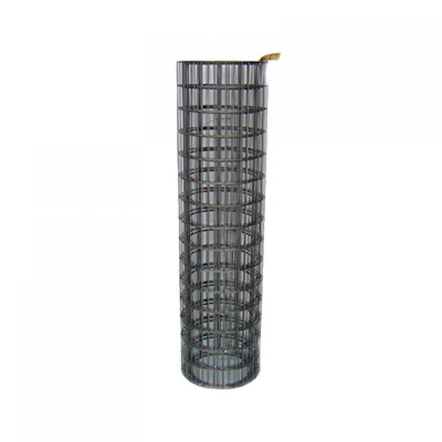 Сетка сварная оцинкованная в рулонах 250х50х2,8 мм. Размер рулона 1,725х118 м
