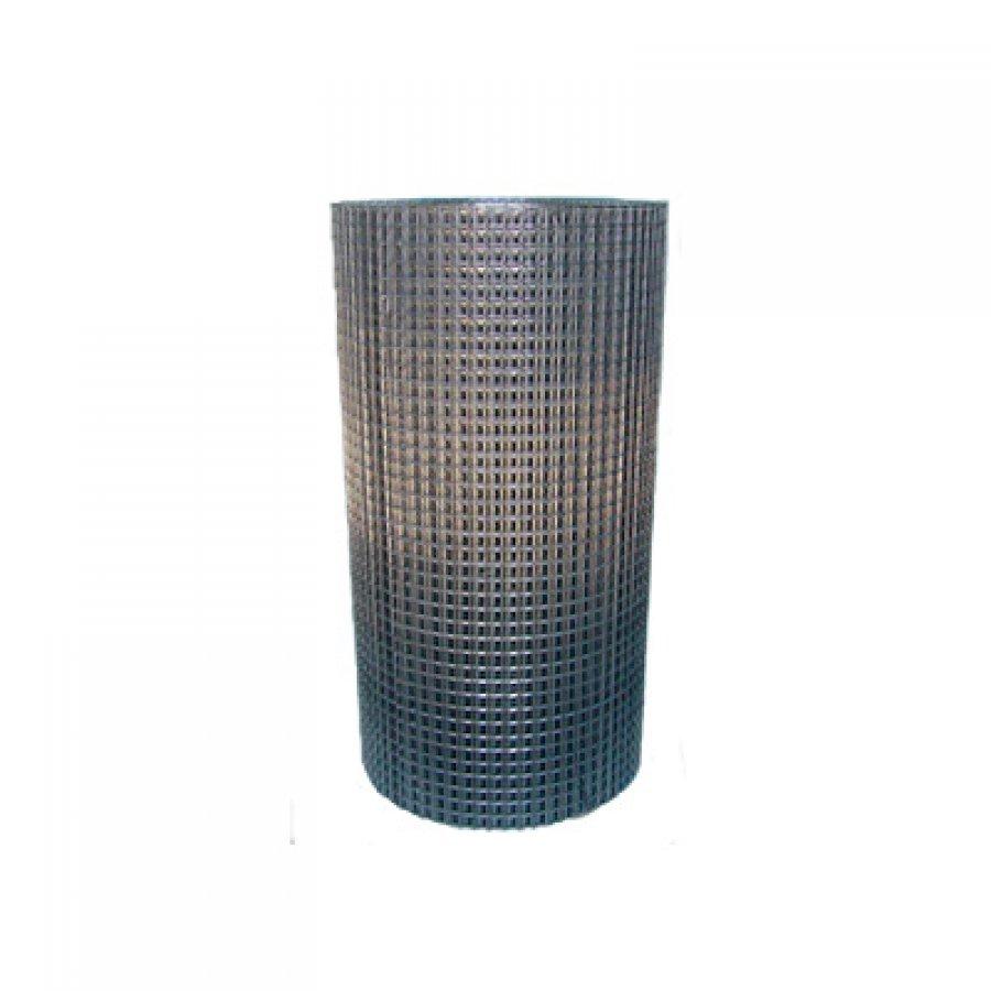 Сетка сварная из оцинкованной проволоки в рулонах 6х6х0,5 мм. Размер рулона 1х15 м
