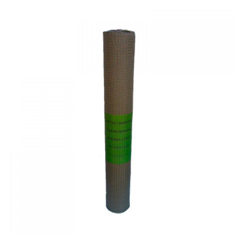 Сетка сварная из оцинкованной проволоки в рулонах 12,5х12,5х0,6 мм. Размер рулона 1х15 м