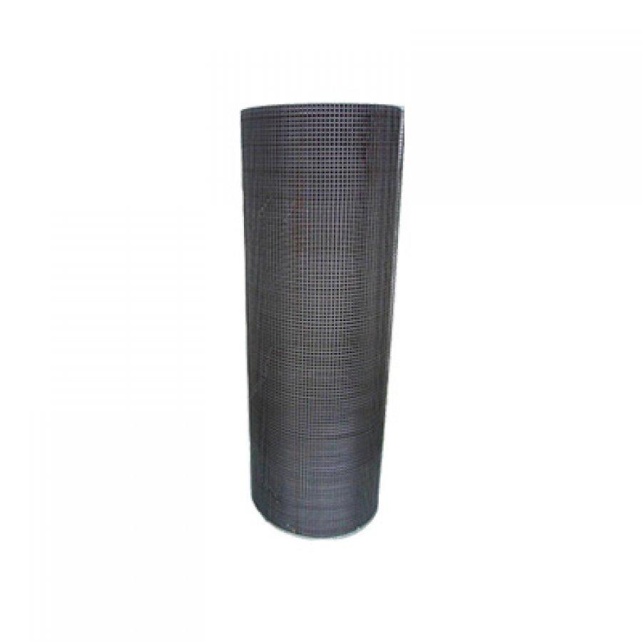 Сетка сварная из оцинкованной проволоки в рулонах 20х20х0,8 мм. Размер рулона 1х25 м