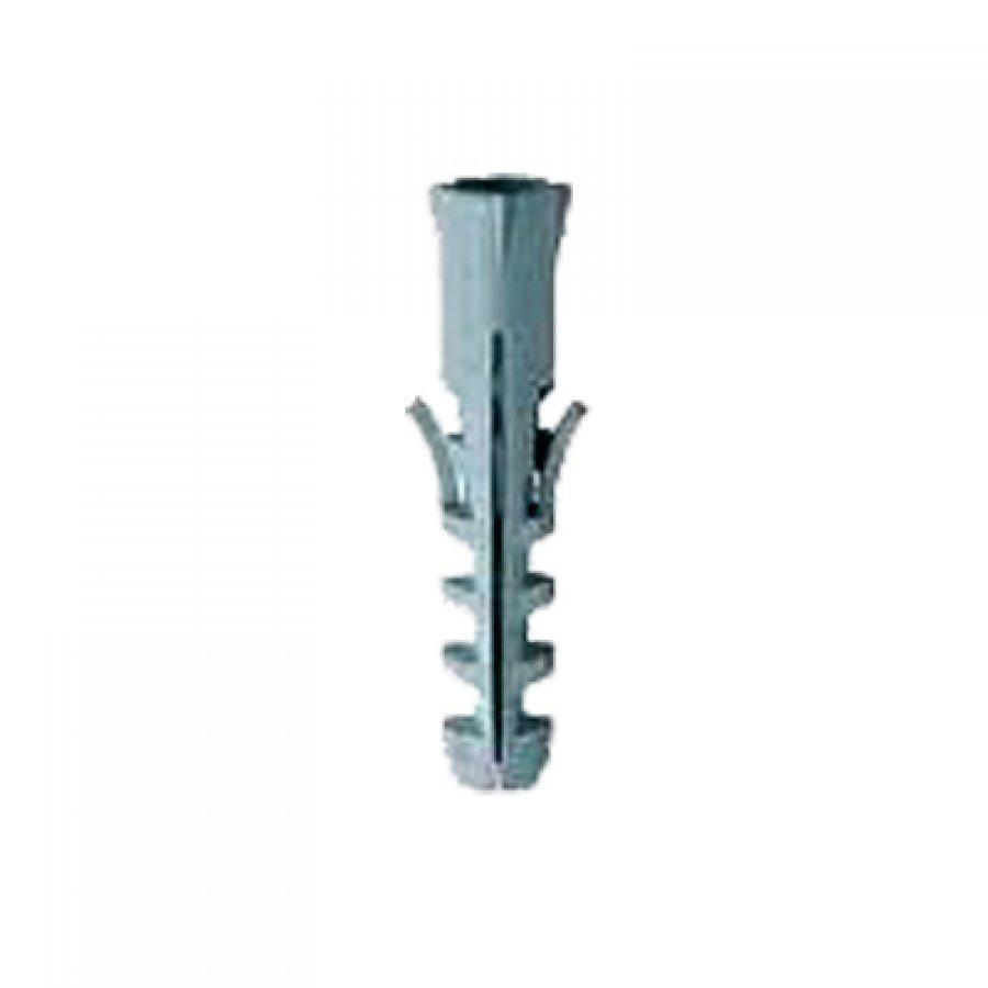 Дюбель распорный (два уса, серый) 6х30 мм