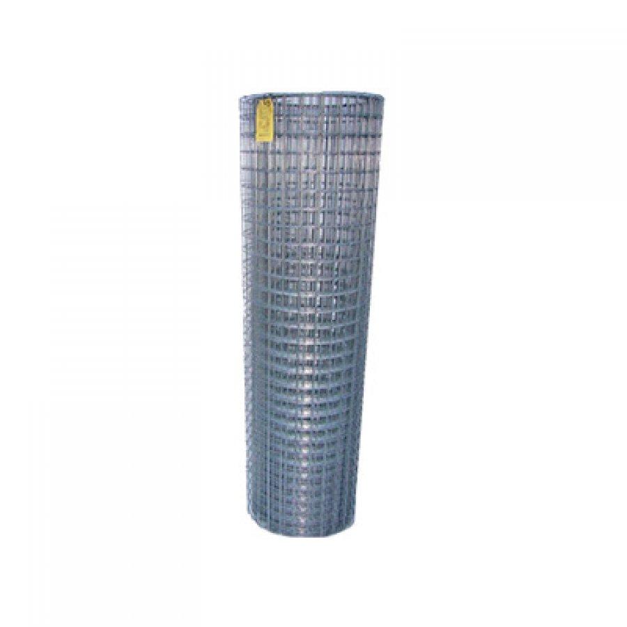 Сетка сварная из оцинкованной проволоки в рулонах 25х25х1,6 мм. Размер рулона 1х50 м