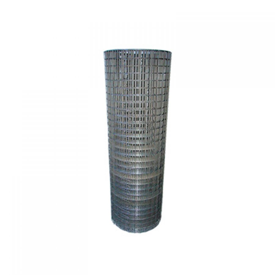 Сетка сварная из оцинкованной проволоки в рулонах 50х50х3,8 мм. Размер рулона 1,5х15 м
