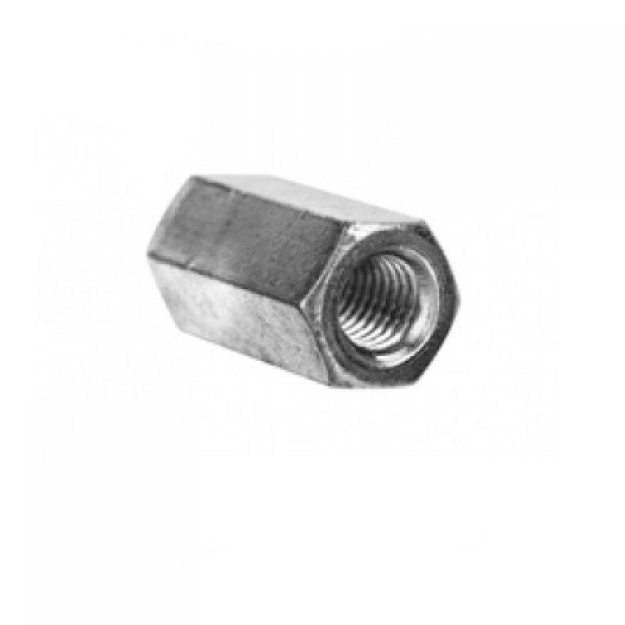 Гайка соединительная (переходная) DIN 6334 М6х10х18 мм
