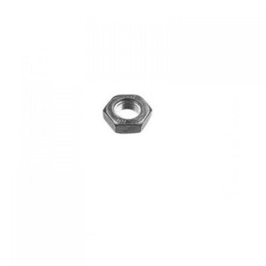 Гайка DIN 934 мелкая резьба желтопассированная М10х1,25 мм