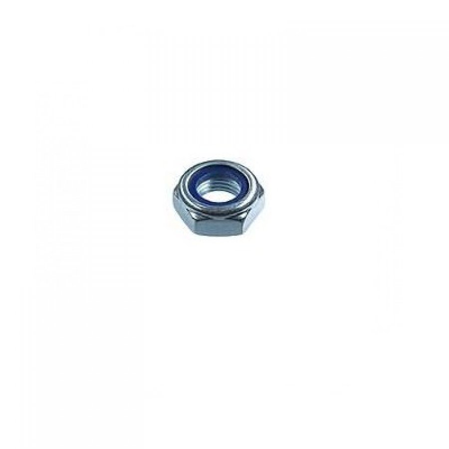 Гайка DIN 985 со стопорным кольцом оцинкованная М5х0,8 мм