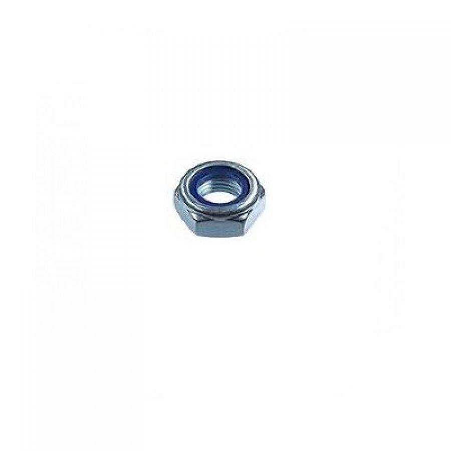 Гайка DIN 985 со стопорным кольцом оцинкованная М8х1,25 мм