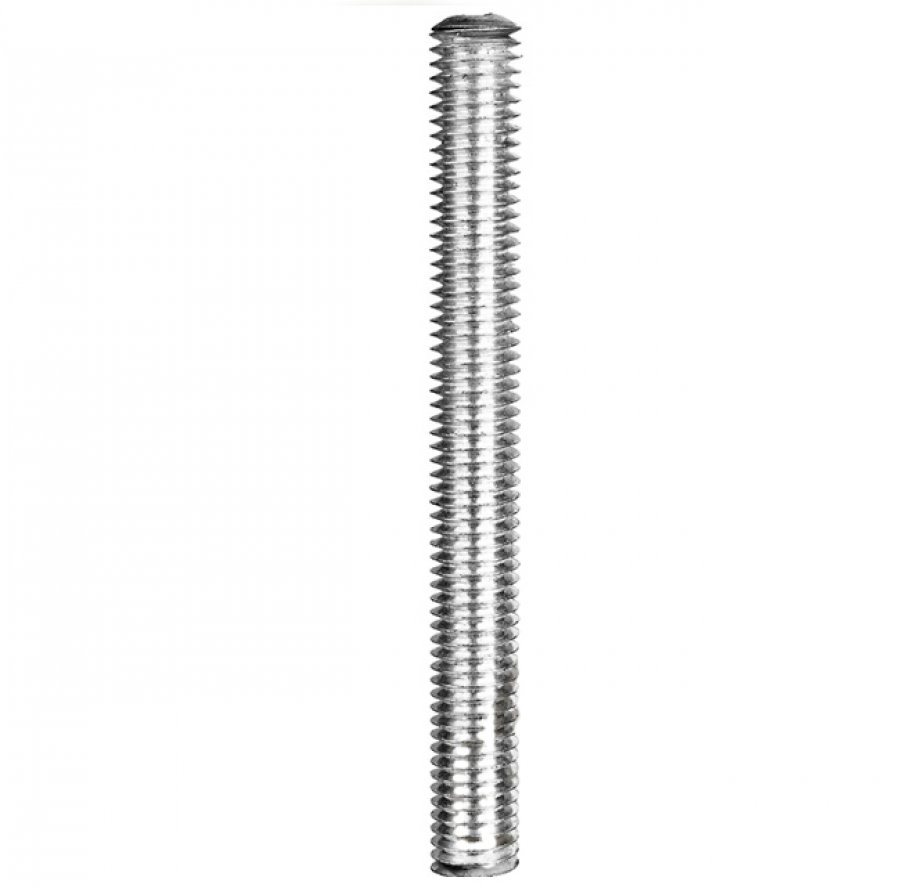Шпильки резьбовые, длина 1 метр, оцинкованные DIN 975 18х1000 мм